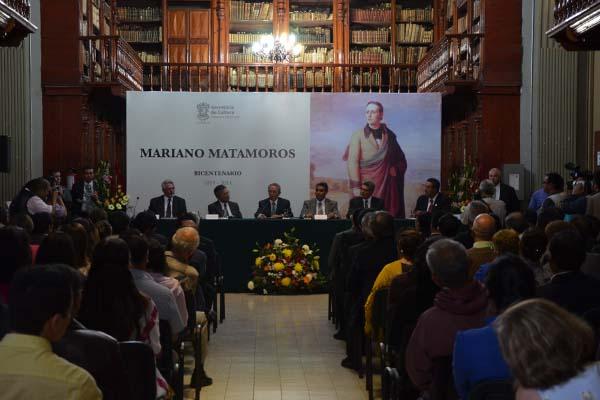 Presentan libro sobre Mariano Matamoros
