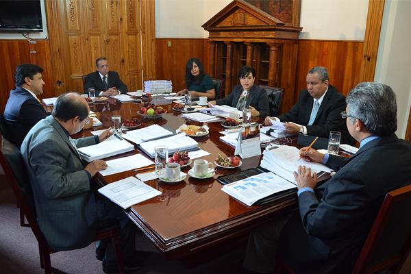 Sesiona Consejo del Poder Judicial