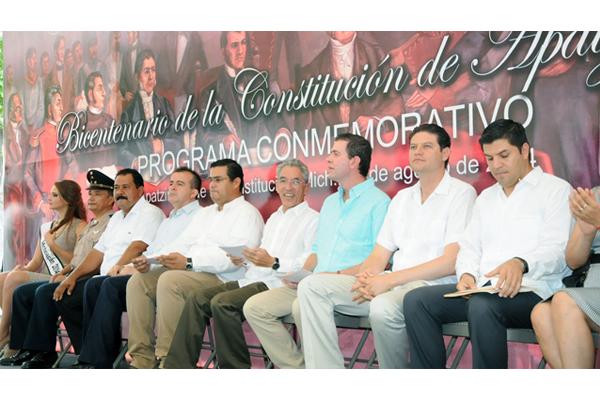Autoridades estatales presentan actividades por el Bicentenario de la Constitución de Apatzingán