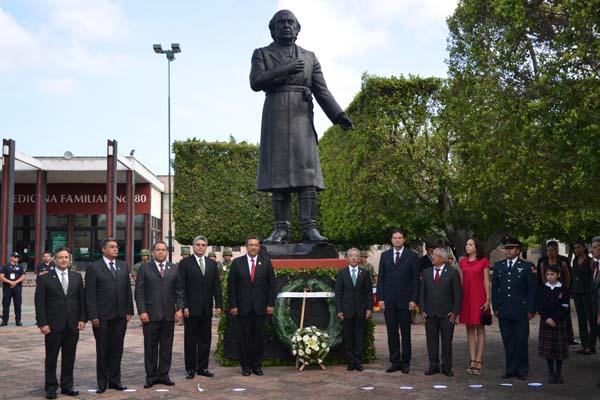 Poder Judicial de Michoacán presente en la ceremonia conmemorativa del 204 aniversario del inicio de la Independencia