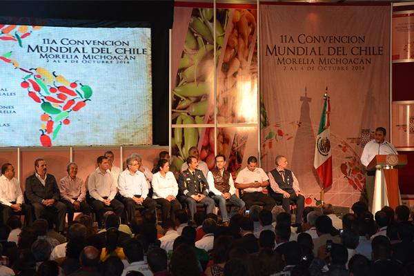 Autoridades de los tres niveles de gobierno inauguran Convención Mundial del Chile
