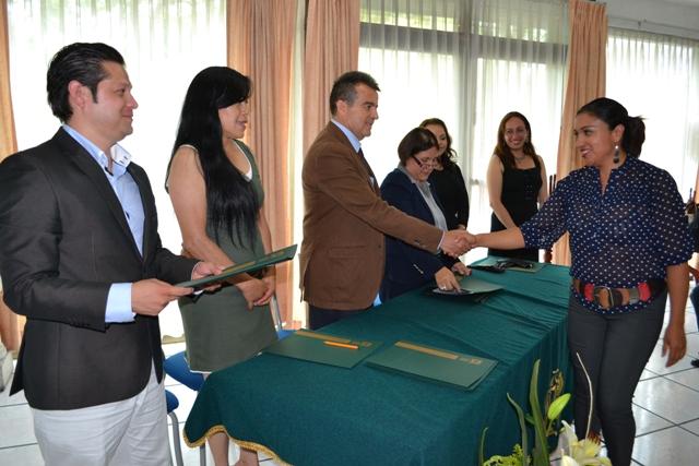 Poder Judicial de Michoacán  presente en la clausura del Diplomado en Peritaje Social