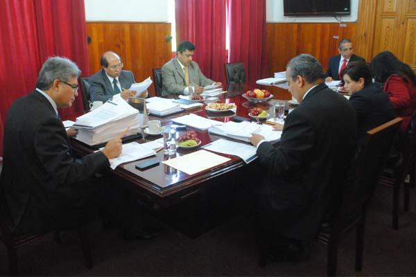 Consejo del Poder Judicial de Michoacán, en sesión ordinaria