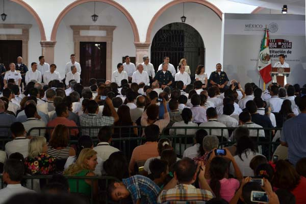 Poder Judicial de Michoacán presente en conmemoración de los 200 años de la Constitución de Apatzingán