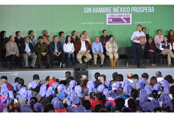 Poder Judicial de Michoacán presente en el inicio de programa federal en beneficio del estado