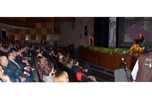 Poder Judicial de Michoacán presente en informe de actividades del DIF