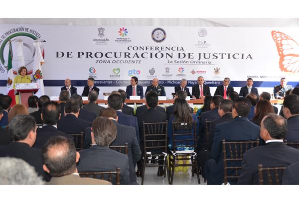 Poder Judicial de Michoacán presente en Conferencia de Procuración de Justicia