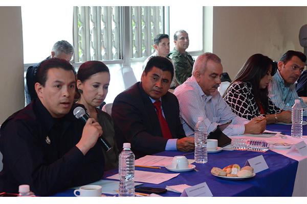 Autoridades estatales encabezan Mesa de seguridad y justicia en Uruapan