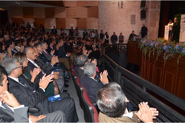Poder Judicial de Michoacán presente en entrega de Presa José Tocavén