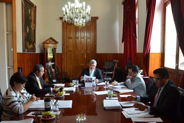 Consejo del Poder Judicial de Michoacán realiza sesión ordinaria