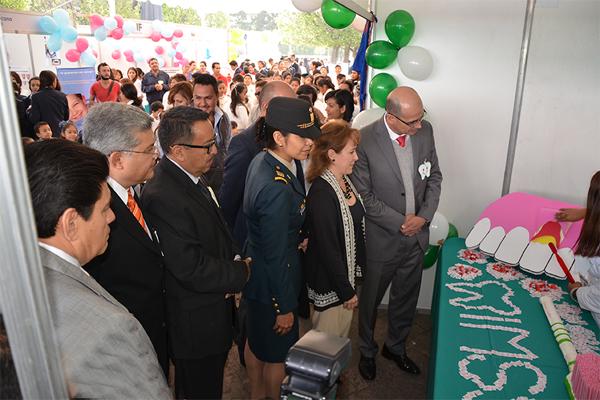 Poder Judicial de Michoacán presente en el inicio de campaña de salud bucal
