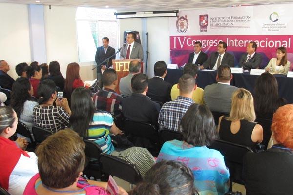 Inicia IV Congreso Internacional de Derechos Humanos, Seguridad Pública y Nuevo Sistema de Justicia Penal