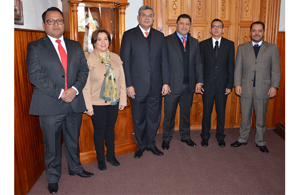 Consejo del Poder Judicial de Michoacán toma protesta a nuevos jueces