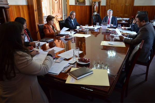 Consejera y consejeros del Poder Judicial realizan sesión ordinaria