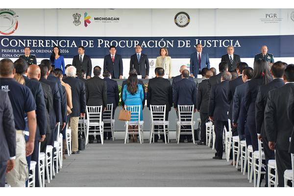 Poder Judicial de Michoacán presente en la Conferencia de Procuración de Justicia