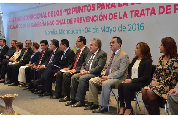 Autoridades de los tres niveles de gobierno presentan campaña para fomentar la seguridad de la familia