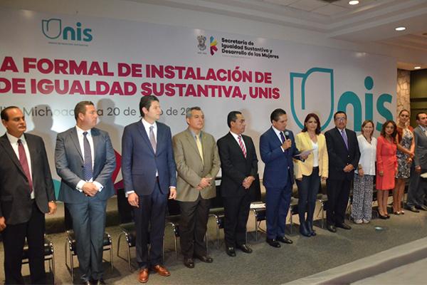 Poder Judicial de Michoacán presente en la instalación de las unidades de igualdad sustantiva