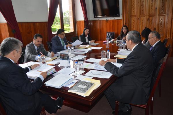Consejo del Poder Judicial de Michoacán atiende asuntos administrativos