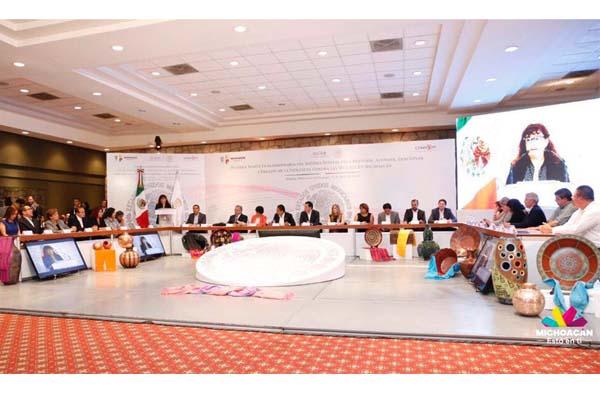Realizan Primera Sesión Extraordinaria del Sistema Estatal para Prevenir, Atender, Sancionar y Erradicar la Violencia contra las Mujeres en Michoacán