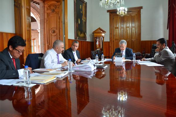 Se reúnen consejeros del Poder Judicial en Comisión de Administración