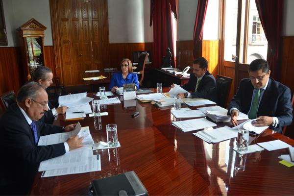 Consejeros del Poder Judicial desarrollan sesión ordinaria