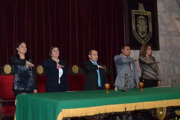 Poder Judicial presente en celebración del Día del Abogado
