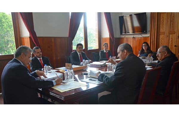 Analiza Consejo el Poder Judicial asuntos relacionados con la institución