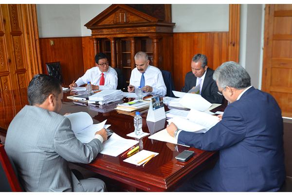 Sesiona Comisión de Administración del Consejo del Poder Judicial