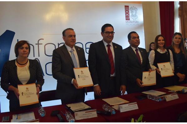 Poder Judicial de Michoacán presente en el informe de la Comisión Estatal de Derechos Humanos