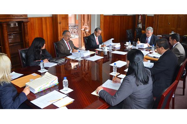 Sesiona Consejo del Poder Judicial de Michoacán
