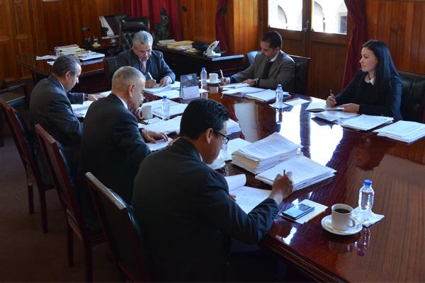 Optimizar los recursos públicos que se invierten en la institución, objetivo de la Comisión de Administración del Consejo