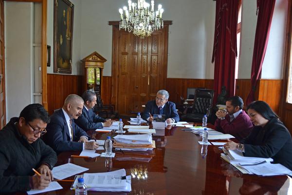 Se reúne la Comisión de Administración del PJM