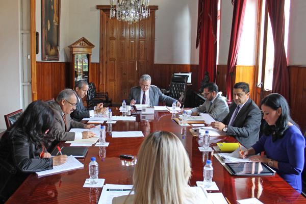 Realiza sesión ordinaria Consejo del Poder Judicial de Michoacán