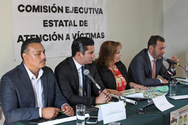 Presentan herramientas de difusión de los Derechos de las Víctimas