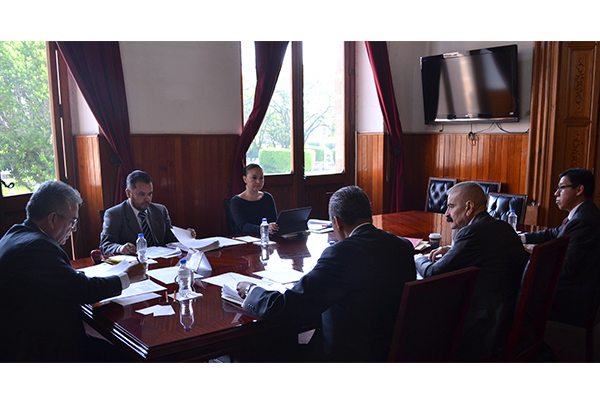 Comisión de Administración del Consejo del Poder Judicial realiza sesión ordinaria
