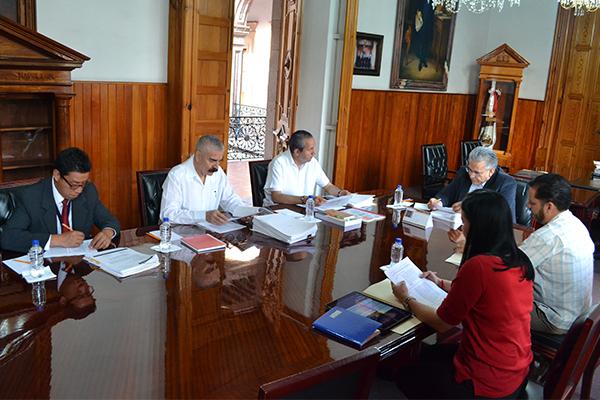 Palacio de Justicia del Centro Histórico, sede de la sesión de la Comisión de Administración del Poder Judicial