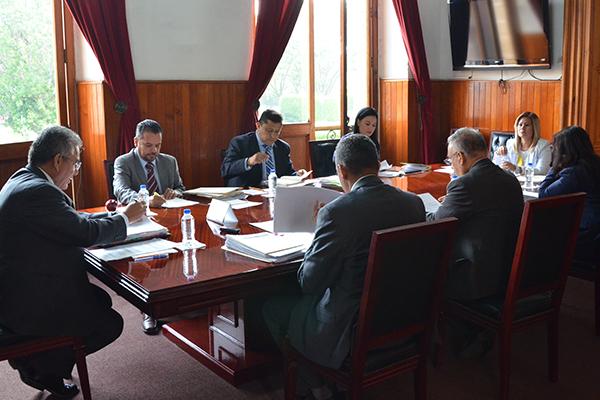 Se reúne en pleno, el Consejo del Poder Judicial para llevar a cabo sesión ordinaria