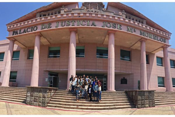UNID sede Cotija conoce la Ciudad Judicial
