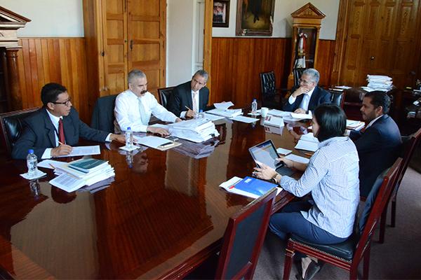 Consejeros integrantes de la Comisión de Administración llevan a cabo sesión ordinaria