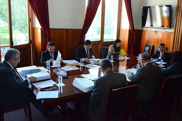 Se reúne en sesión de pleno, el Consejo del Poder Judicial de Michoacán