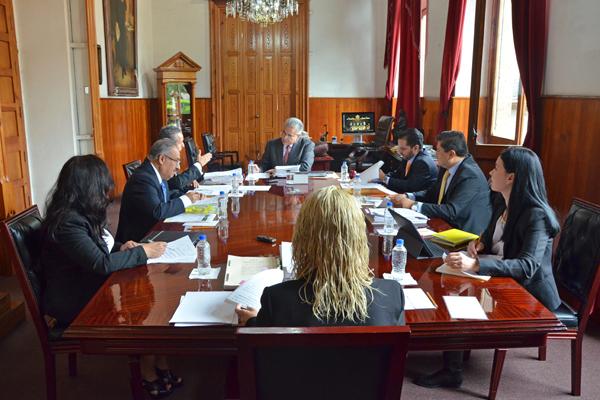 Máximo órgano administrativo del Poder Judicial de Michoacán lleva a cabo sesión ordinaria
