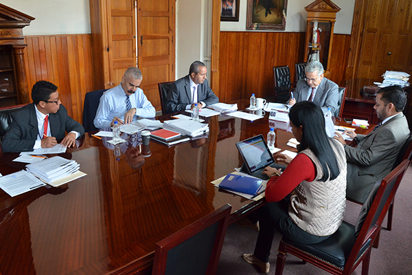Se reúne en sesión ordinaria la Comisión de Administración del PJM