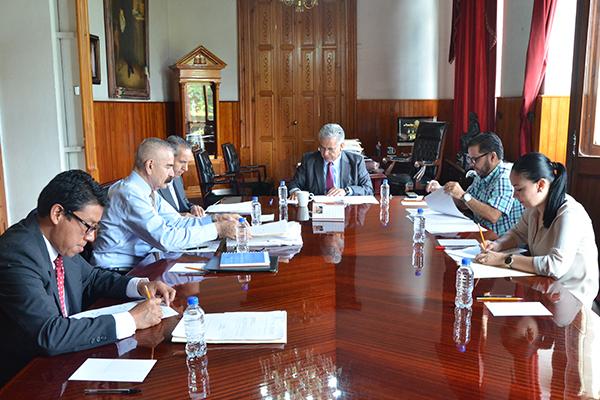 Sesiona Comisión de Administración del Poder Judicial