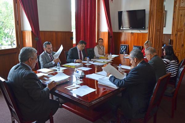Marco Antonio Flores Negrete preside sesión ordinaria del Consejo del Poder Judicial de Michoacán