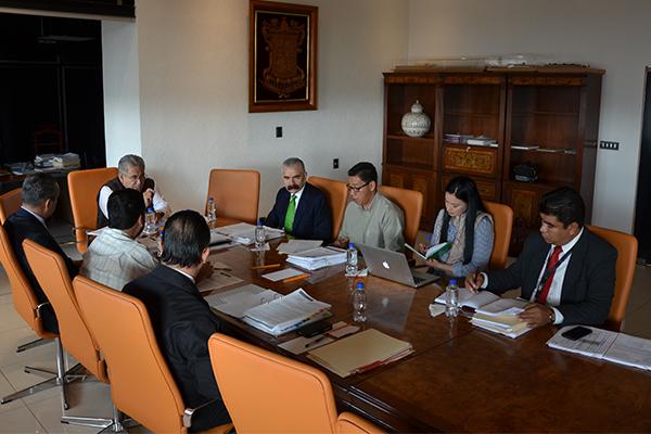 Se reúne Comité de Adquisiciones, Arrendamientos, Obra Pública y Servicios del Consejo del Poder Judicial de Michoacán