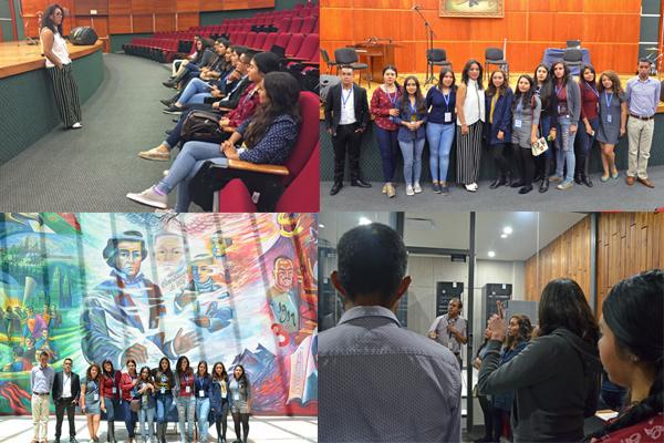 Se realiza visita guiada en el Palacio de Justicia José María Morelos