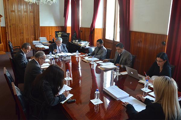 Consejeros del Poder Judicial de Michoacán llevan a cabo sesión ordinaria