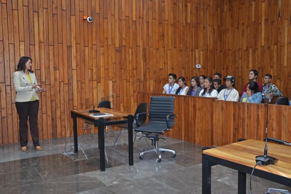 Instituto Siervo de la Nación se vincula con el sistema de justicia penal oral a través del PJM