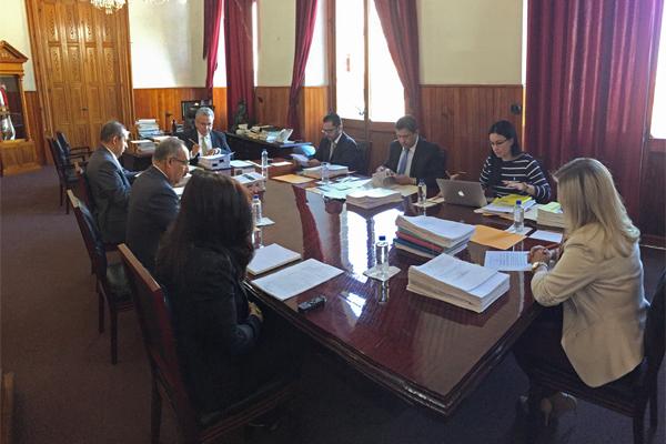 Integrantes del Consejo del PJM se reúnen para realizar sesión de carácter ordinario