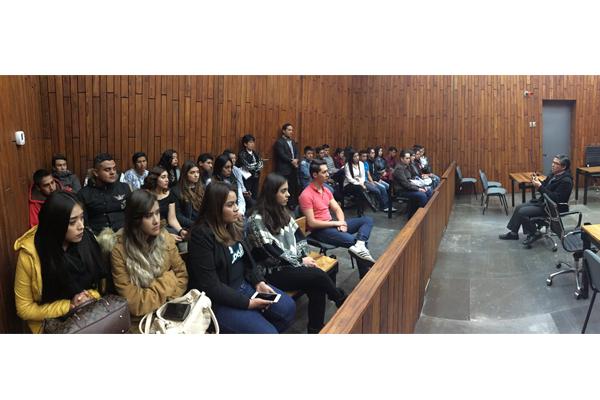 UNID Morelia conoce el Poder Judicial de Michoacán